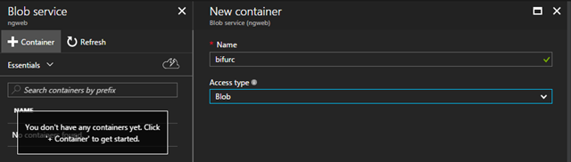 Create a Serverless Angular App with Azure Functions and Blob