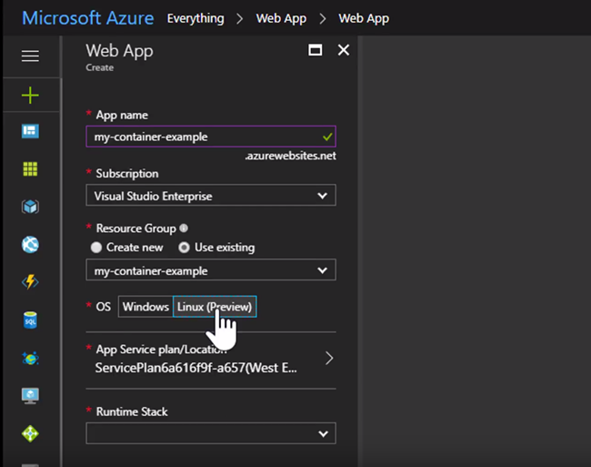 Docker Containers at Scale with Azure Web App on Linux   Developer