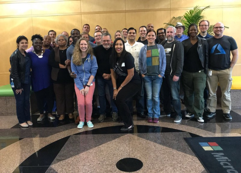 The Microsoft Community Connections group in Charlotte 2017
