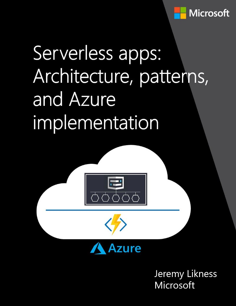 Image of the Serverless eBook Cover